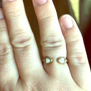 Chloe + Isabel Lunette Open Band Ring